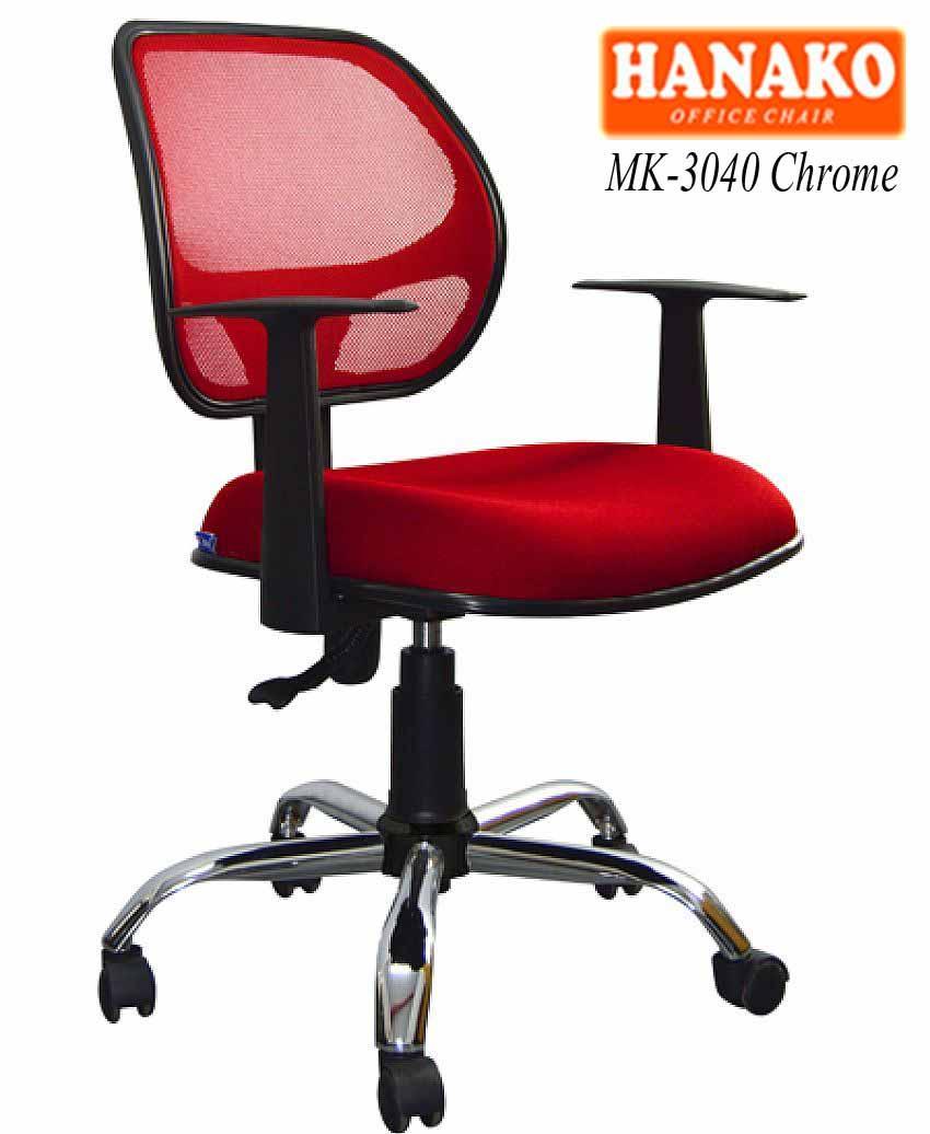 MK 3040 Chrome - Kursi kantor Hanako MK-3040 Chrome