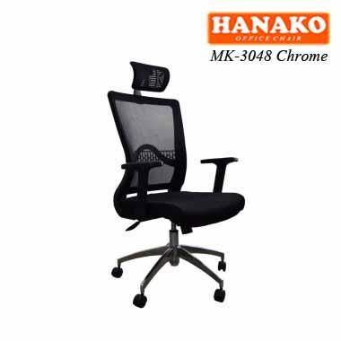 MK 3048 Chrome - Kursi kantor Hanako MK-3048 Chrome
