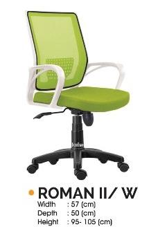 Roman II W - Kursi Kantor Ichiko Roman II/W