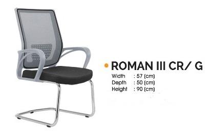 Roman III CR G - Kursi Kantor Ichiko Roman III CR/G