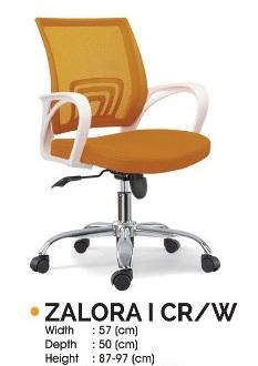 Zalora I CR W - Kursi Kantor Ichiko Zalora I CR/W